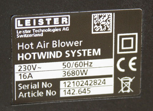 Leister Hotwind цена